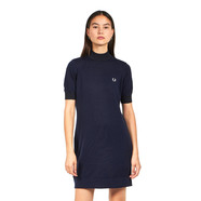 Fred Perry - Crew Neck Knitted Dress