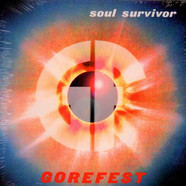 Gorefest - Soul Survivor Blue With White/Black Splatter Vinyl Edition