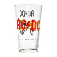 AC/DC - Rock Glass Pint