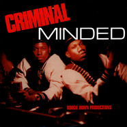 Boogie Down Productions - Criminal Minded Red Vinyl Edition