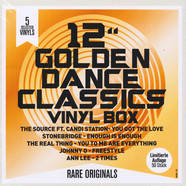 V.A. - 12 Collector's Vinyl Box Golden Dance Classics