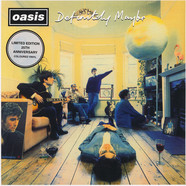 Oasis - Definitely Maybe 25th Anniversary Silver Vinyl Edition