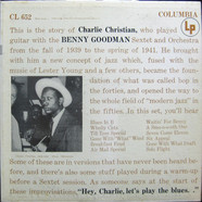 Charlie Christian With Benny Goodman Sextet And Benny Goodman And His Orchestra - With The Benny Goodman Sextet And Orchestra