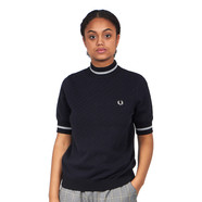 Fred Perry - Texture Turtle Neck Jumper