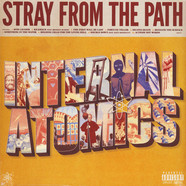 Stray From The Path - Internal Atomics Black & Pink W/ Green Splatter Vinyl Edition