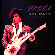 Prince - Purple Rain Live Transparent Purple Vinyl Edition