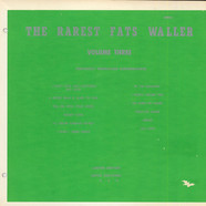 Fats Waller - The Rarest Fats Waller, Volume 3