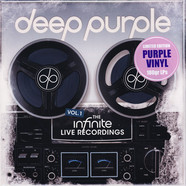 Deep Purple - The Infinite Live Recordings Volume 1 Limited Purple Vinyl Edition