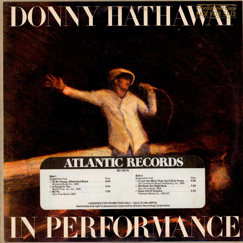 Donny Hathaway - In Performance
