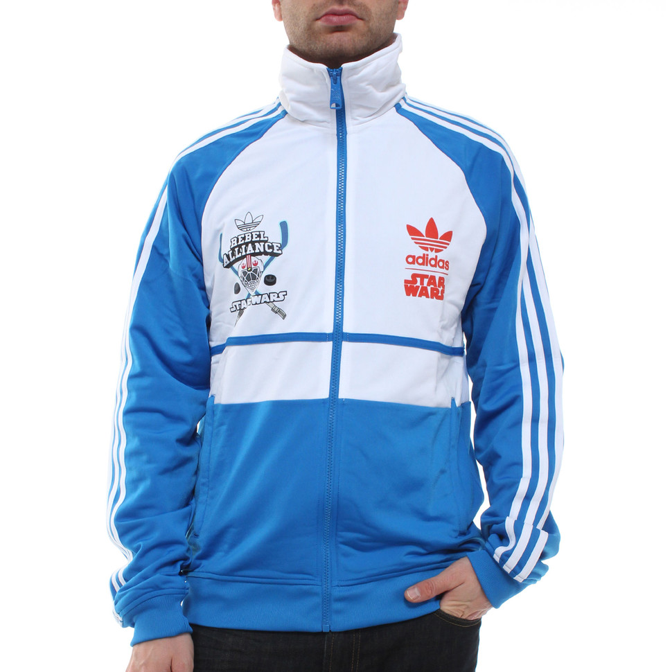 adidas x Star Wars SW D Track Top WG (White) | HHV