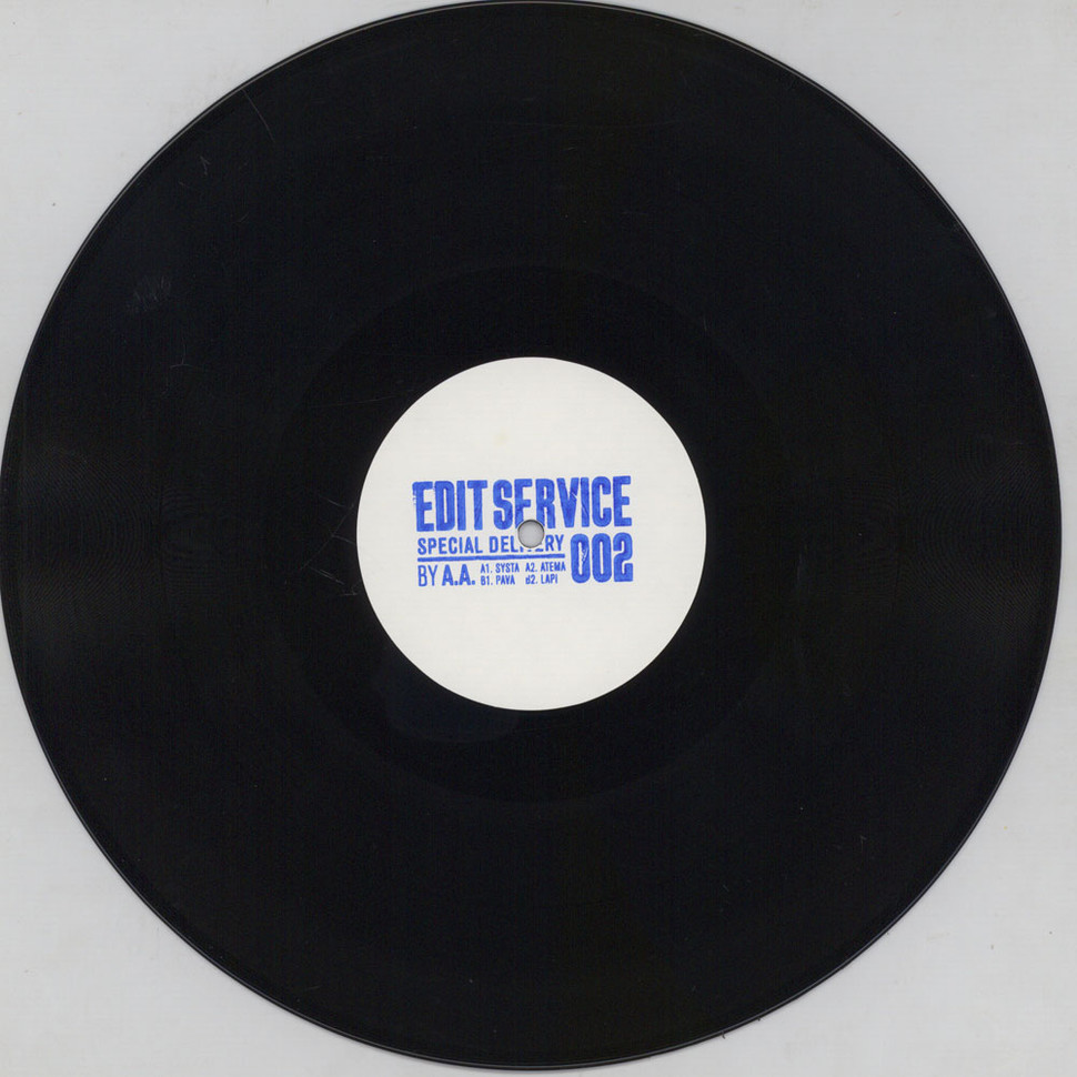 AA - Edit Service 002 Special Delivery