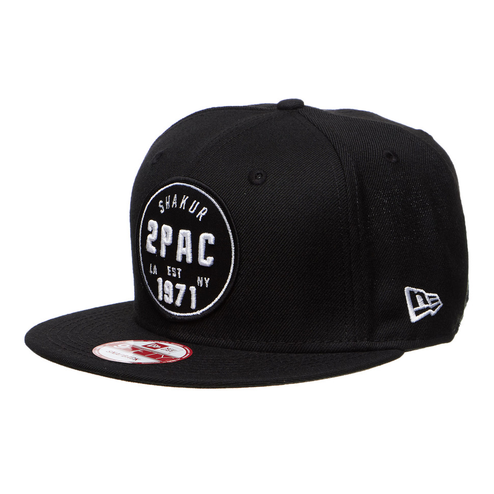 2Pac - Old School Snapback Cap
