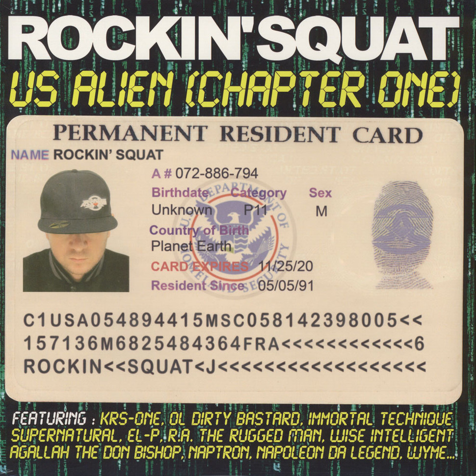 Rockin Squat of Assassin - US Alien (Chapter One)