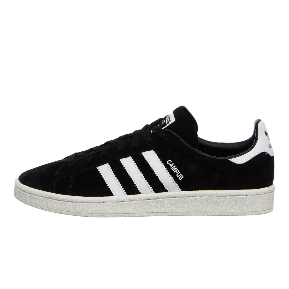 adidas Campus (Core Black / Footwear White / Core White)