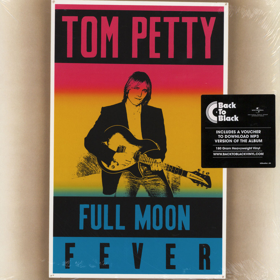 Tee Tom Petty and The Heartbreakers Full Moon Fever