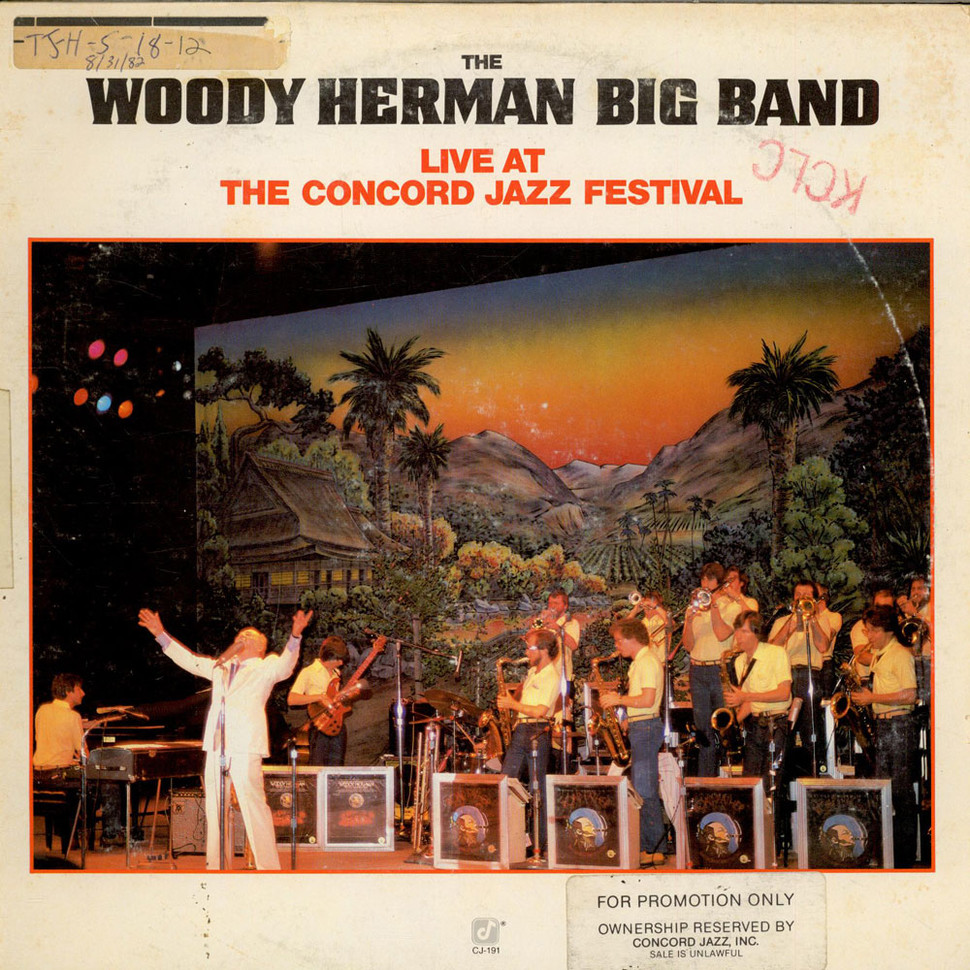 Woody Herman Big Band, The - Live At The Concord Jazz Festival