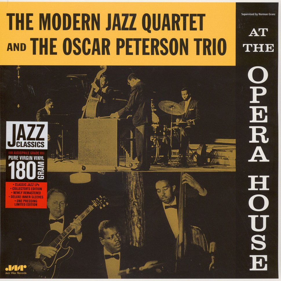 Modern Jazz Quartet - At The Opera House