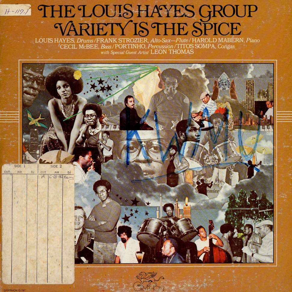 Louis Hayes Group, The - Variety Is The Spice