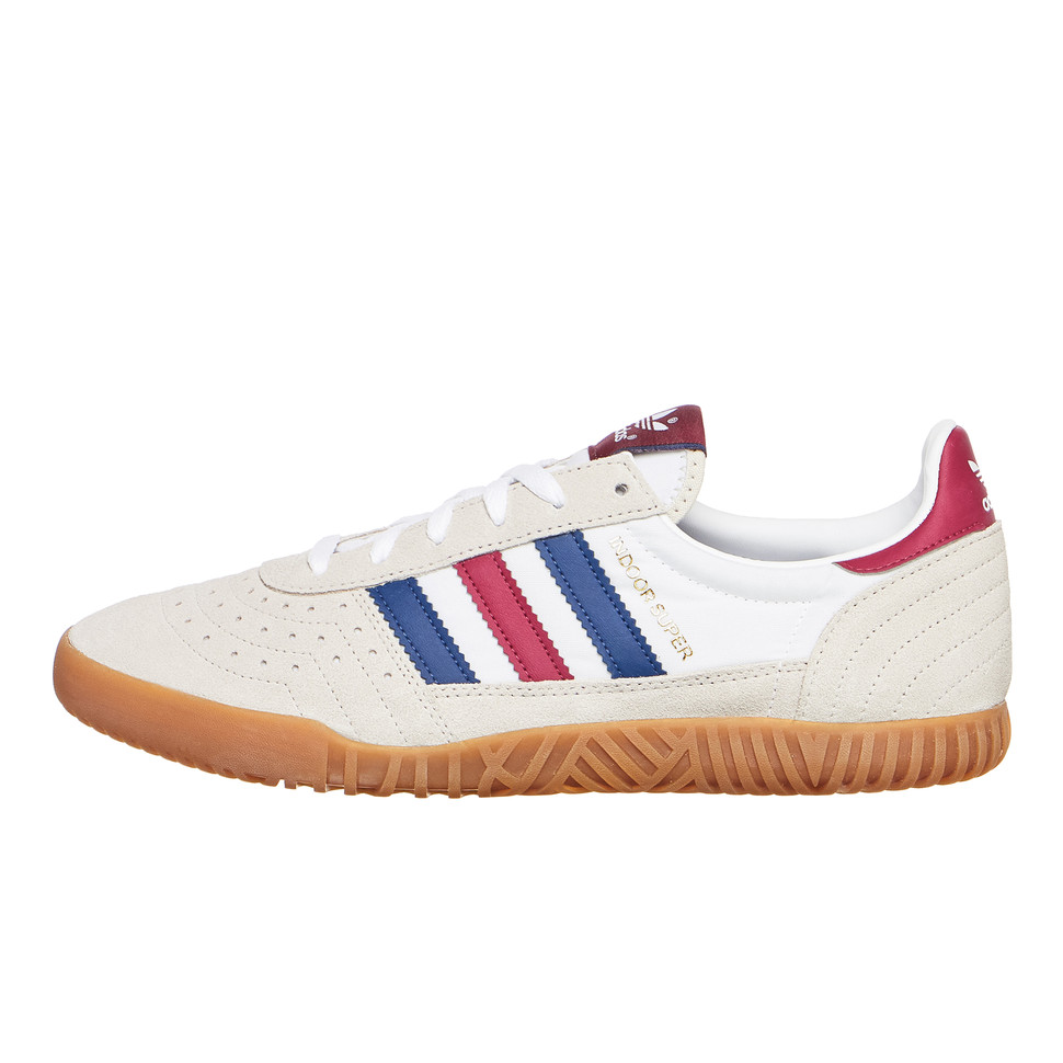 Converger Acercarse Sembrar  adidas - Indoor Super (Clear Brown / Noble Indigo / Mystery Ruby) | HHV