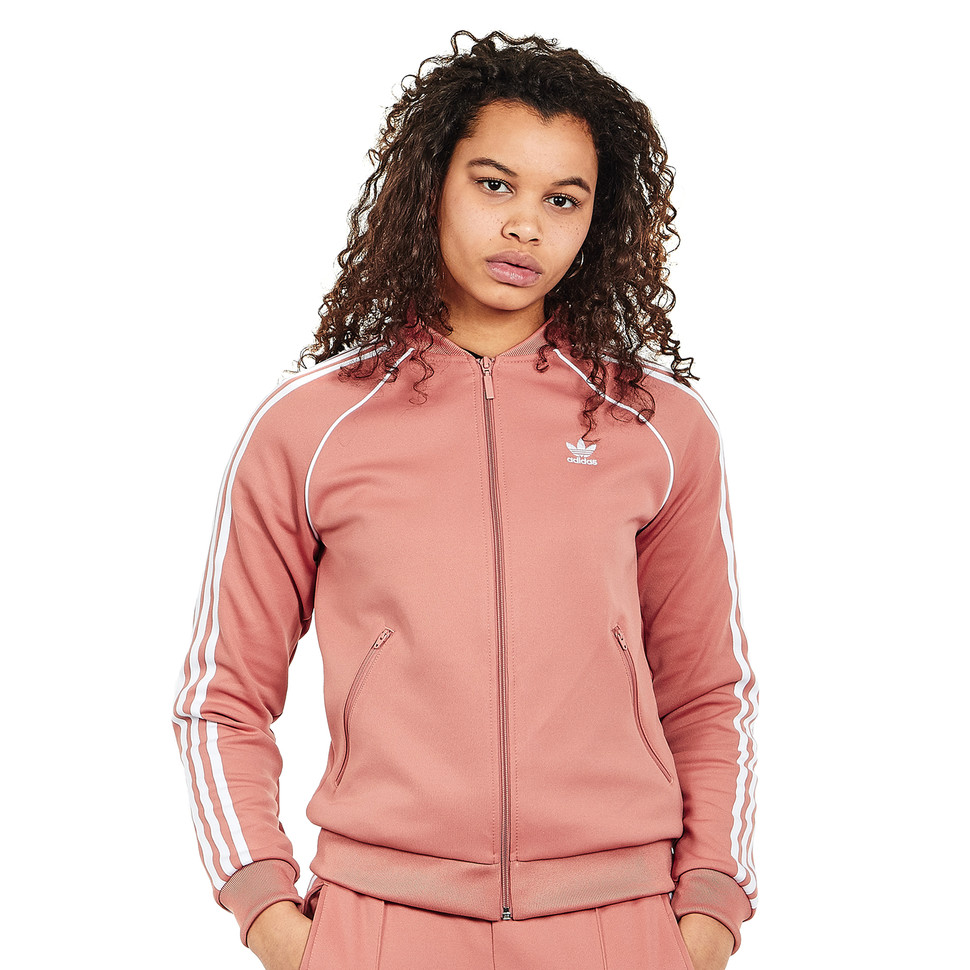 Sweatshirts adidas Superstar Track Jacket Ash Pink | Footshop