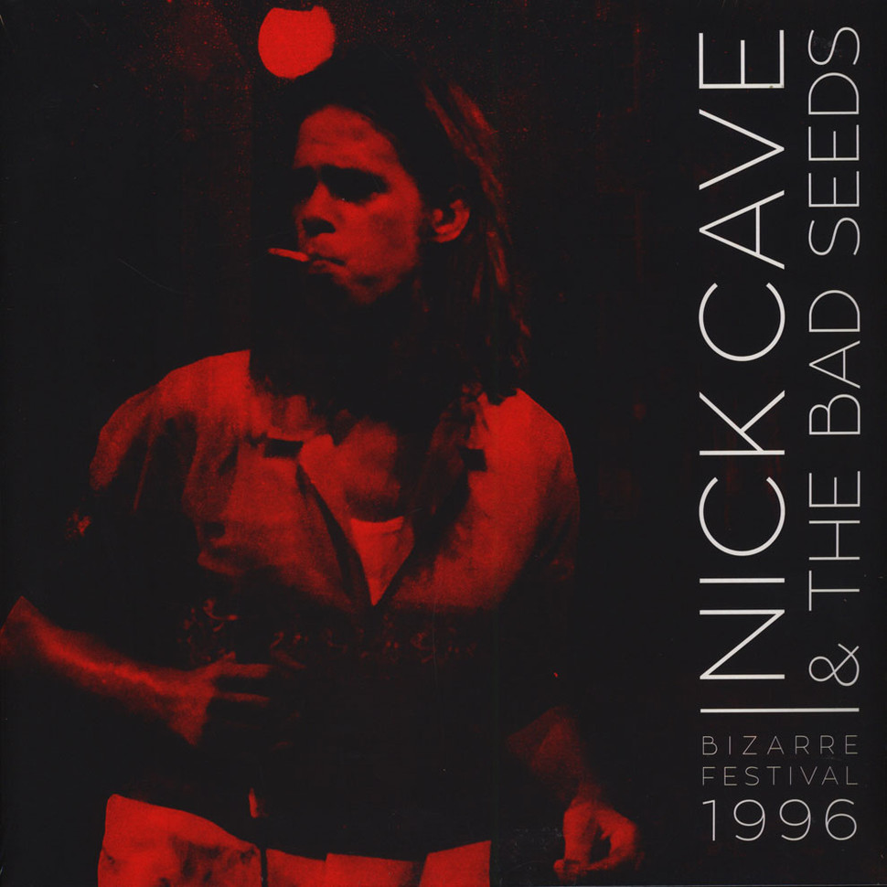 Nick Cave & The Bad Seeds - Bizarre Festival 1996 Red Vinyl Edition