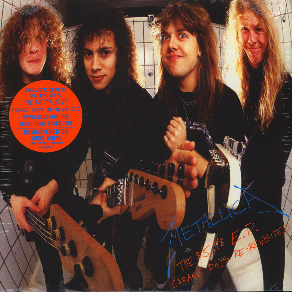 Metallica - The 5.98 EP - Garage Days Re-Revisited Orange Vinyl Edition