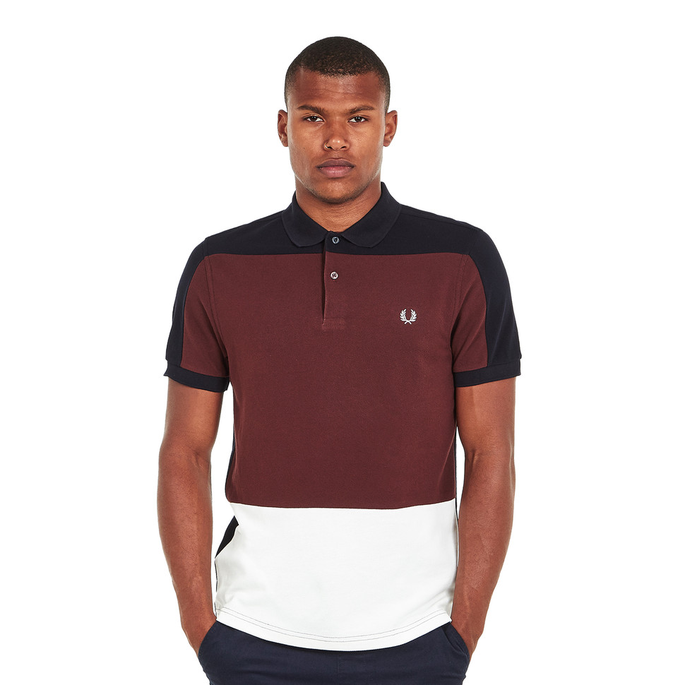 Fred Perry - Panelled Pique Shirt