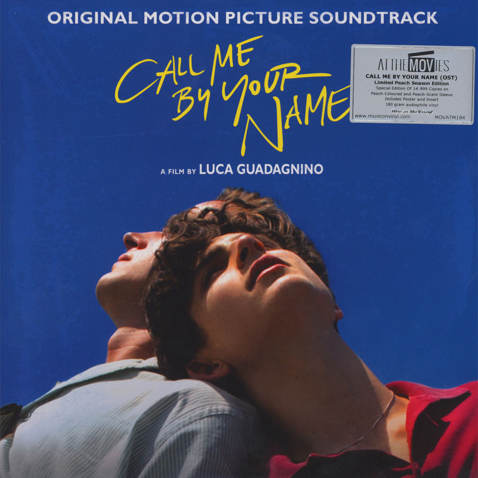 V.A. - OST Call Me By Your Name Colored Vinyl Edition