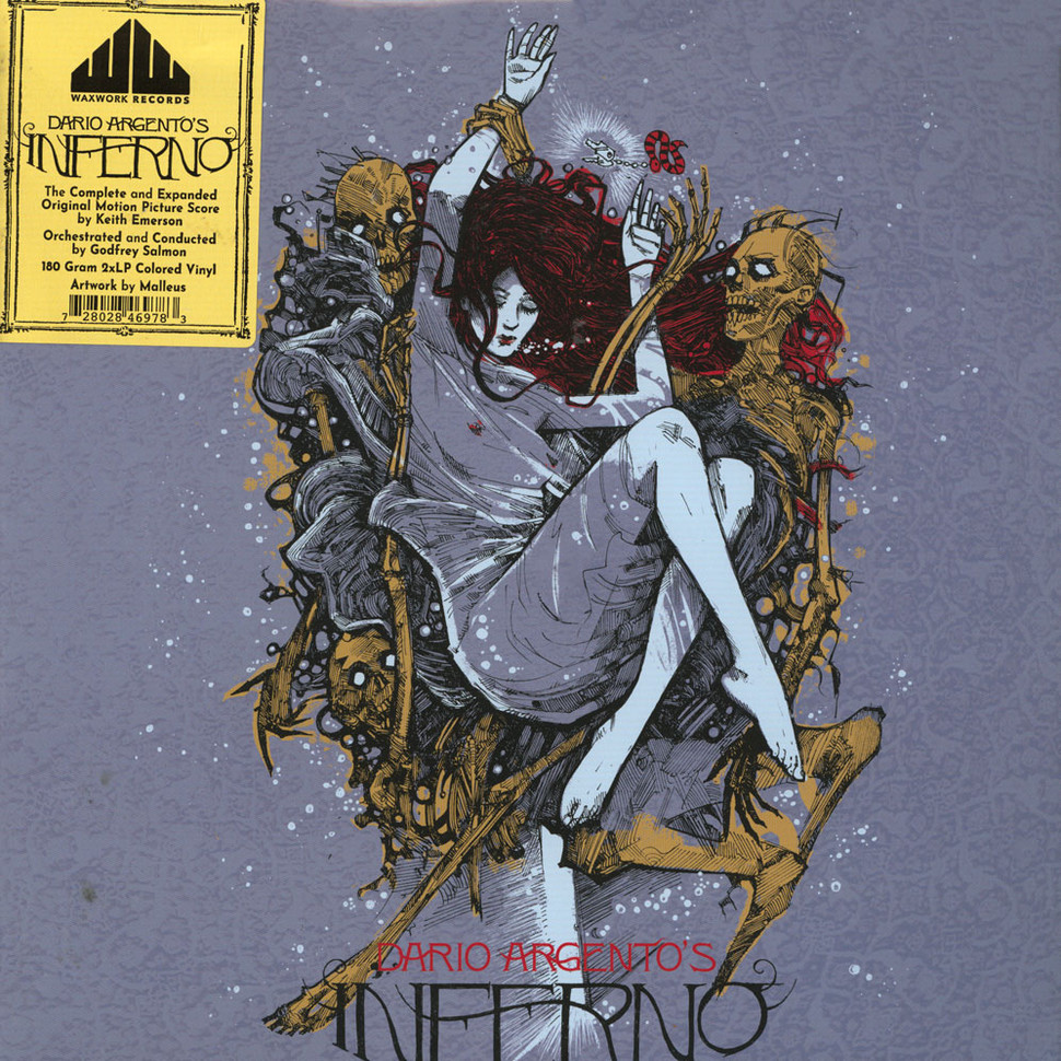 Keith Emerson - OST Dario Argento's Inferno Colored Vinyl Edition