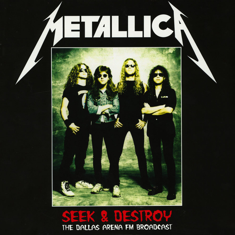 Metallica - Seek & Destroy The Dallas Arena Broadcast Volume 2