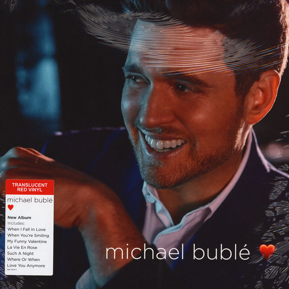 Michael Buble Christmas Special 2019.Michael Buble Love Valentine S Day Red Vinyl Edition