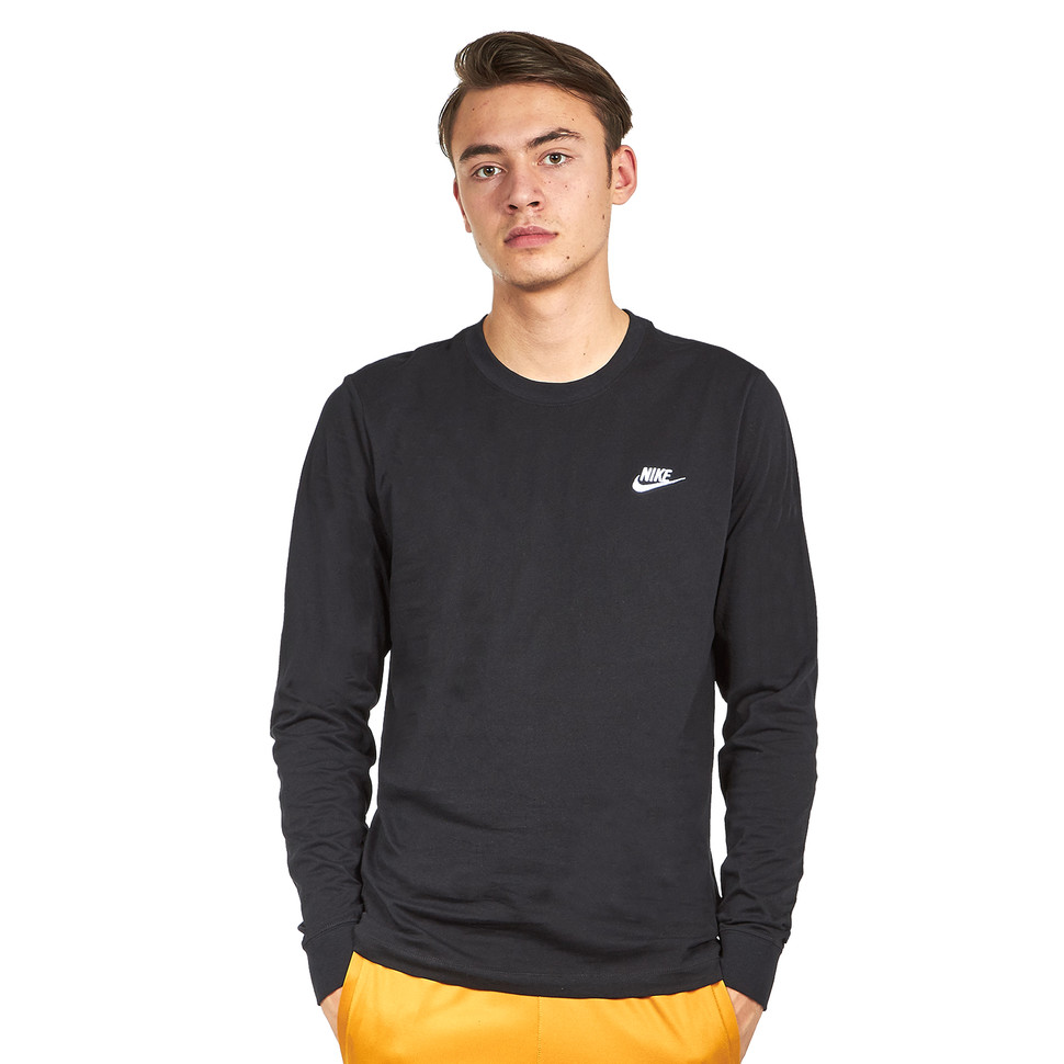Nike Club Long Sleeve T Shirt S