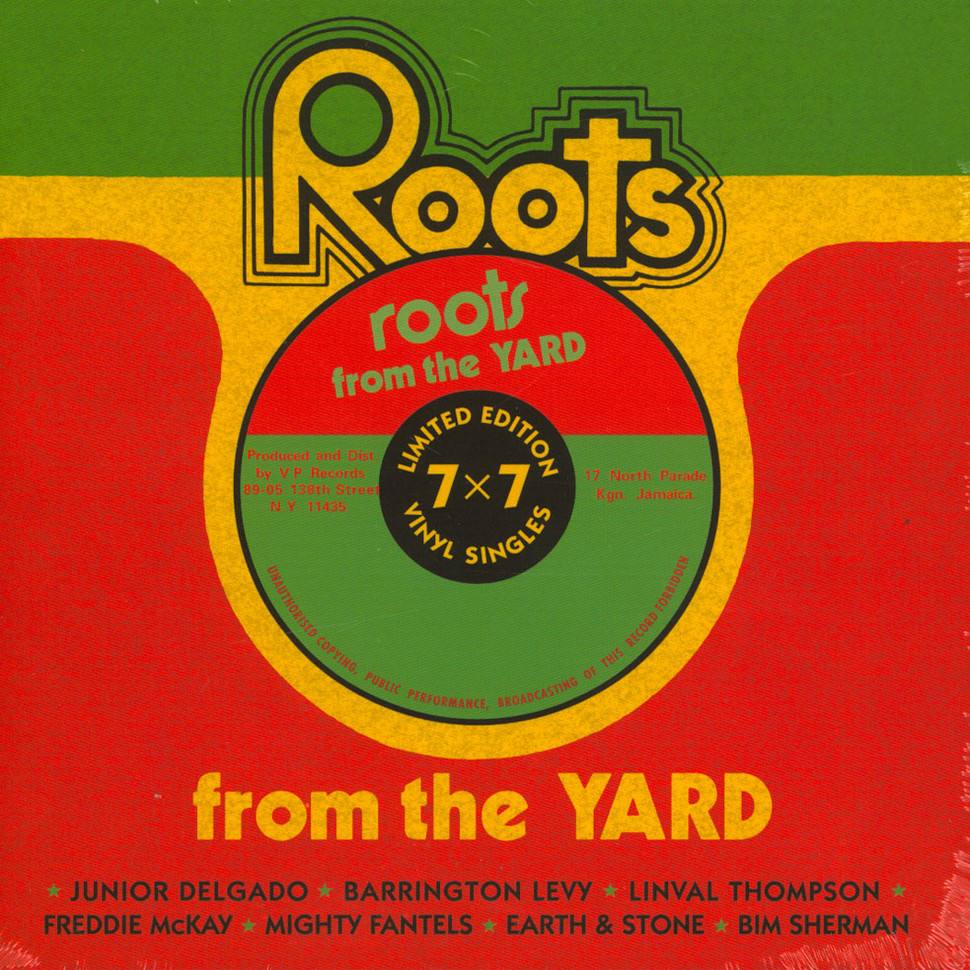 V A  - Roots From The Yard 7x7inch Box-Set Record Store Day 2019 Edition