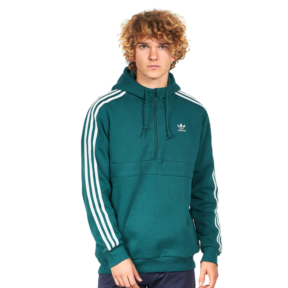 adidas hoodie with stripes