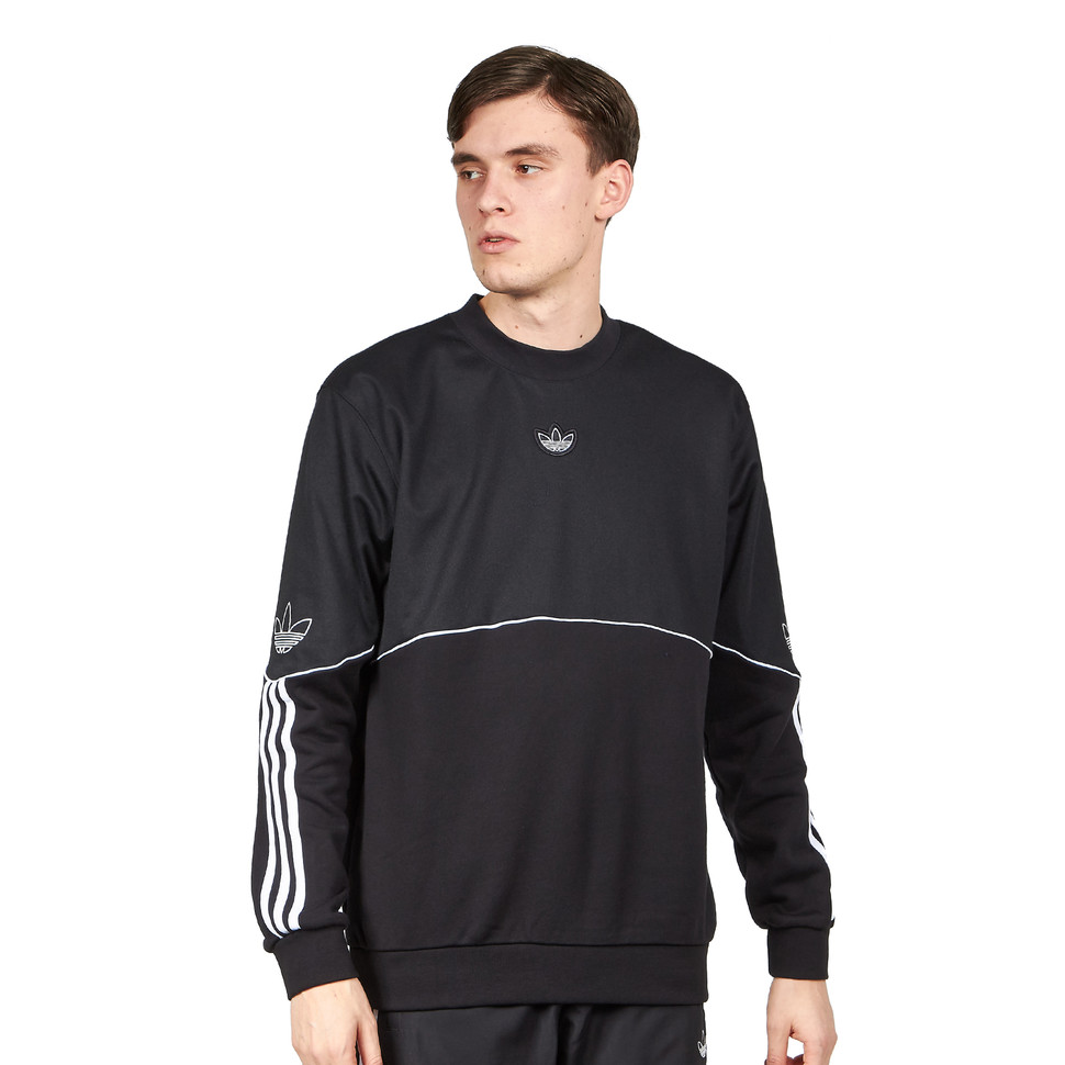 adidas Pique 3 Stripes Long Sleeve Tee | Adidas sweater