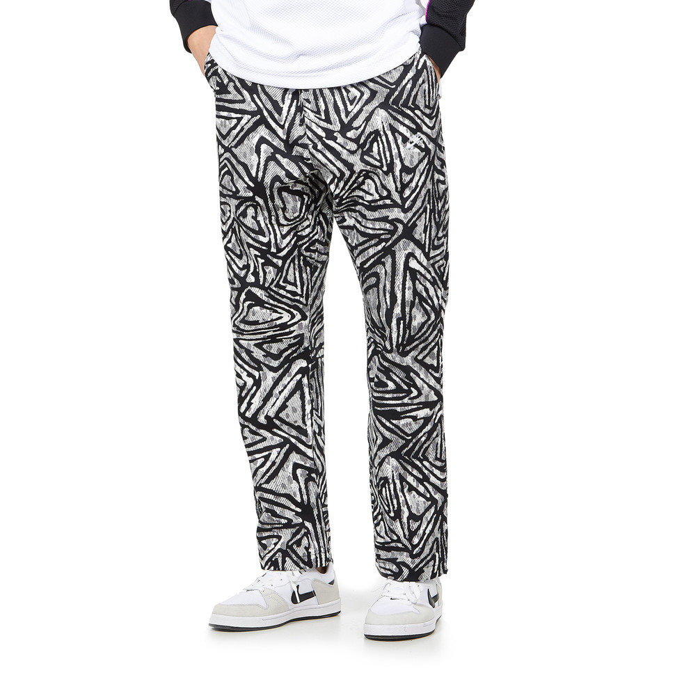 Nike Sb Printed Skate Pants Black Particle Grey Black White Hhv