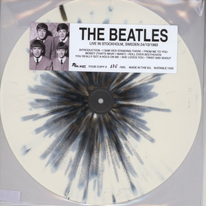 Beatles, The - Live In Stockholm, Sweden 24/10/1963 (1-Sided LP)