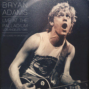 Bryan Adams - At The LA Palladium, 1985