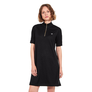 Fred Perry - Mesh Overlay Dress
