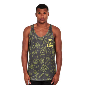 De La Soul - 3 Feet High And Rising Shapes Tank Top