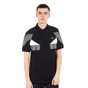 Fred Perry - Stripe Graphic Pique Shirt