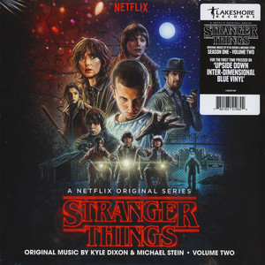 Kyle Dixon & Michael Stein - OST Stranger Things Season 1 Volume 2 Upside Down Inter-Dimensional Blue Vinyl Edition