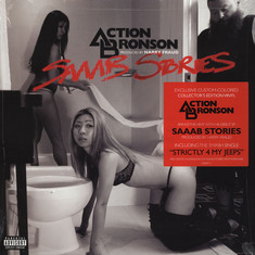 Action Bronson - Saaab Stories Red Vinyl Edition
