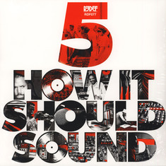 Damu The Fudgemunk - How It Should Sound Volume 5 Black Vinyl Edition