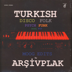 Arsivplak - Turkish Disco Folk Moog Edits