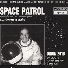 Peter Thomas & Mocambo Astronautic Sound Orchestra - Space Patrol Orion 50th Anniversary Version Gold Vinyl Edition