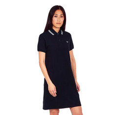 Fred Perry - Mesh Cuff Pique Dress