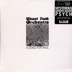 Ghost Funk Orchestra - A Song For Paul Black Vinyl Edition