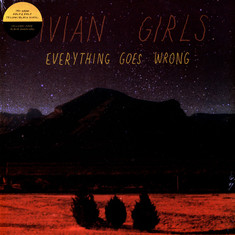 Vivian Girls - Everything Goes Wrong Yellow/Black Vinyl Edition